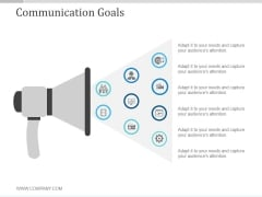 Communication Goals Ppt PowerPoint Presentation Samples
