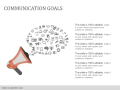 Communication Goals Template 2 Ppt Powerpoint Presentation Icon Design Templates
