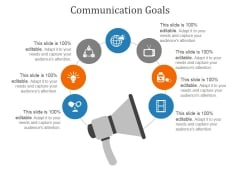 Communication Goals Template 2 Ppt PowerPoint Presentation Portfolio