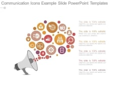 Communication Icons Example Slide Powerpoint Templates