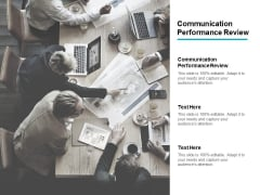 Communication Performance Review Ppt PowerPoint Presentation Styles Grid Cpb