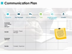 Communication Plan Ppt PowerPoint Presentation File Layouts