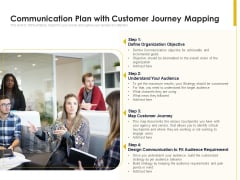 Communication Plan With Customer Journey Mapping Ppt PowerPoint Presentation File Ideas PDF