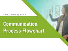 Communication Process Flowchart Employee Team Improvement Ppt PowerPoint Presentation Complete Deck