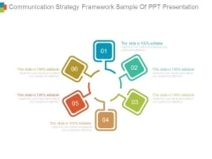 Communication Strategy Framework Sample Of Ppt Presentation