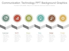 Communication Technology Ppt Background Graphics