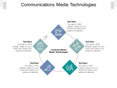 Communications Media Technologies Ppt PowerPoint Presentation Pictures Example Cpb Pdf