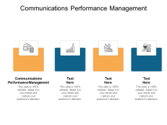 Communications Performance Management Ppt PowerPoint Presentation Inspiration Format Cpb