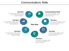 Communications Skills Ppt PowerPoint Presentation Ideas Clipart Images Cpb