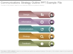 Communications Strategy Outline Ppt Example File