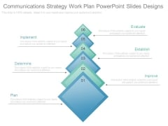 Communications Strategy Work Plan Powerpoint Slides Designs