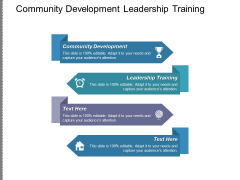 Community Development Leadership Training Ppt PowerPoint Presentation File Inspiration
