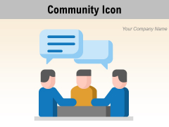 Community Icon Culture Icon Culture Event Collaboration Ppt PowerPoint Presentation Complete Deck