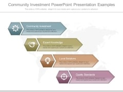 Community Investment Powerpoint Presentation Examples