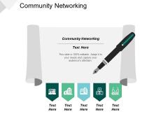Community Networking Ppt PowerPoint Presentation Show Slide Portrait Cpb