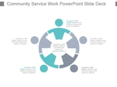 Community Service Work Powerpoint Slide Deck