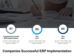 Companies Successful ERP Implementation Ppt PowerPoint Presentation Show Display Cpb
