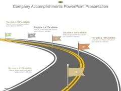 Company Accomplishments Powerpoint Presentation