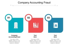 Company Accounting Fraud Ppt PowerPoint Presentation Infographics Inspiration Cpb Pdf