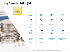 Company Amalgamation Key Financial Ratios Debt Ppt Outline Show PDF