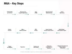 Company Amalgamation M And A Key Steps Ppt Styles Gallery PDF