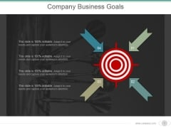 Company Business Goals Ppt PowerPoint Presentation Examples