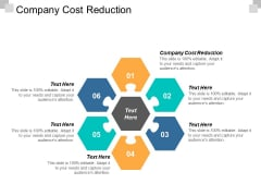 Company Cost Reduction Ppt Powerpoint Presentation Summary Designs Download Cpb