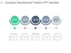 Company Development Timeline Ppt PowerPoint Presentation Slides