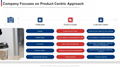 Company Focuses On Product Centric Approach Ppt Slides Shapes PDF