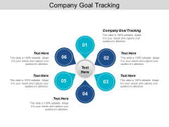 Company Goal Tracking Ppt PowerPoint Presentation Pictures Styles Cpb