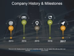 Company History And Milestones Template 1 Ppt PowerPoint Presentation Infographic Template Picture