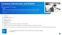 Company Introduction And Details Demonstration PDF