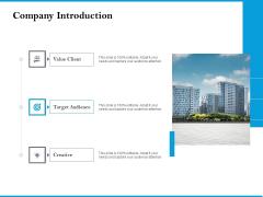 Company Introduction Icons PDF