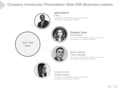 Company Introduction Ppt PowerPoint Presentation Backgrounds