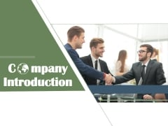 Company Introduction Ppt PowerPoint Presentation Complete Deck With Slides