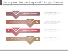 Company Lean Principles Diagram Ppt Samples Download