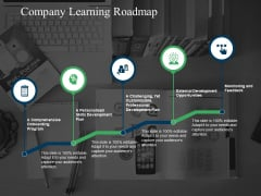 Company Learning Roadmap Ppt PowerPoint Presentation Ideas Show