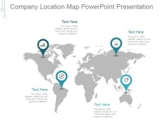Company Location Map Ppt PowerPoint Presentation Icon