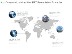Company Location Sites Ppt PowerPoint Presentation Visuals