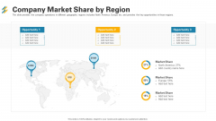 Company Market Share By Region Ppt Inspiration Graphics Example PDF