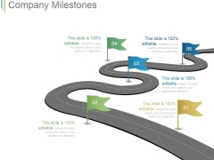 Company Milestones Template 1 Ppt PowerPoint Presentation Template