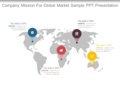 Company Mission For Global Market Sample Ppt Presentation