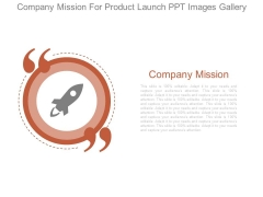 Company Mission For Product Launch Ppt Images Gallery