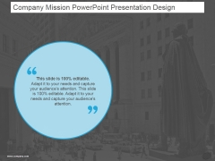Company Mission Ppt PowerPoint Presentation Templates