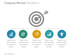 Company Mission Template 1 Ppt PowerPoint Presentation Tips