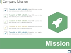 Company Mission Template 3 Ppt PowerPoint Presentation Graphics