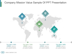 Company Mission Value Sample Of Ppt Presentation