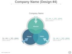 Company Name Design 4 Ppt PowerPoint Presentation Slide