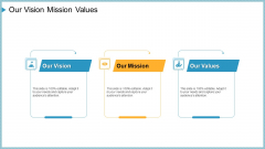Company Need Administration Mechanisms Methods Our Vision Mission Values Rules PDF