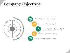 Company Objectives Ppt PowerPoint Presentation File Layouts